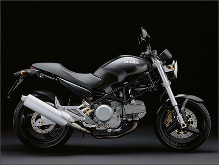 Foto d'archivio: Ducati Monster 600 Dark (1998 - 01)