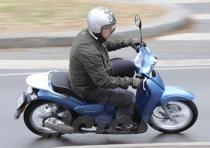 """Scooter a ruote alte, che il marketing Piaggio preferisce tuttavia definire """"city bike"""""""