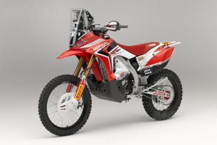 Honda CRF450 rally7